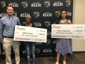 Stellar Scholarship Winners 2018-19