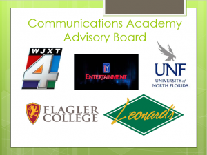 communications academy partners powepoint slide