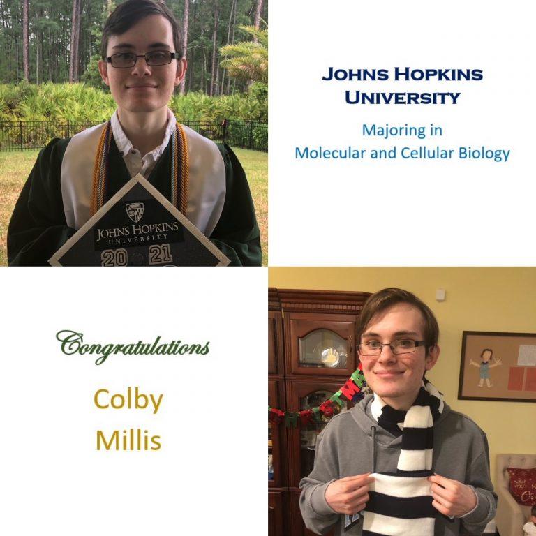 Top 10; National Merit Finalist; Science NHS President; DECA VP of Finance