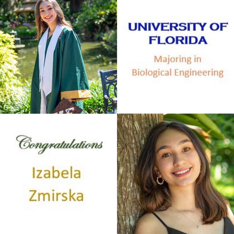 Top 10; UF Lombardi Scholar