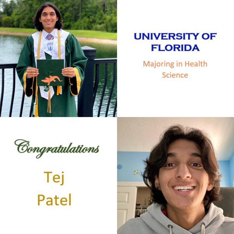 Top 10; UF Honors Program; BK Scholarship Recipient